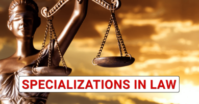 Specialization in law in India