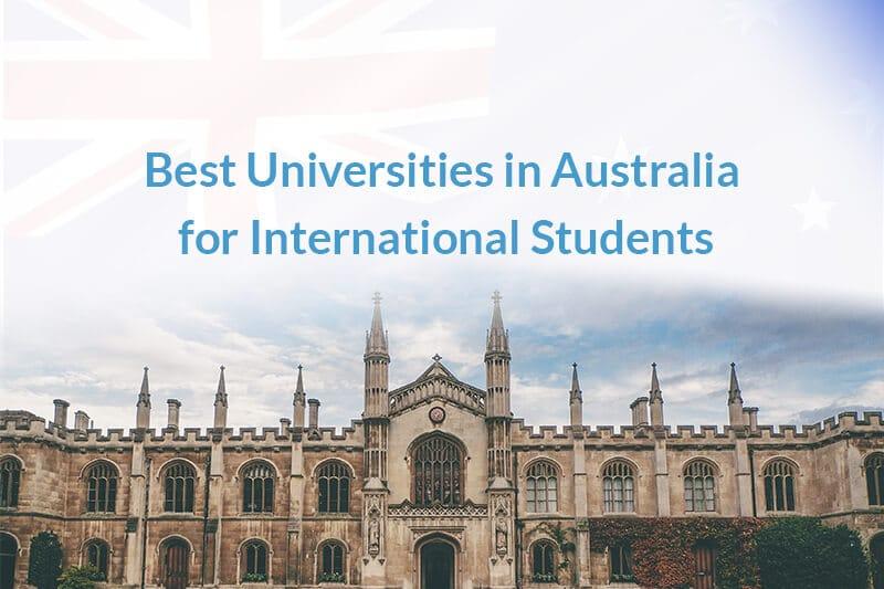 List Of top universities in australia