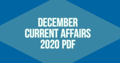 December current affairs 2020 pdf