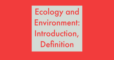Ecologyand environmental