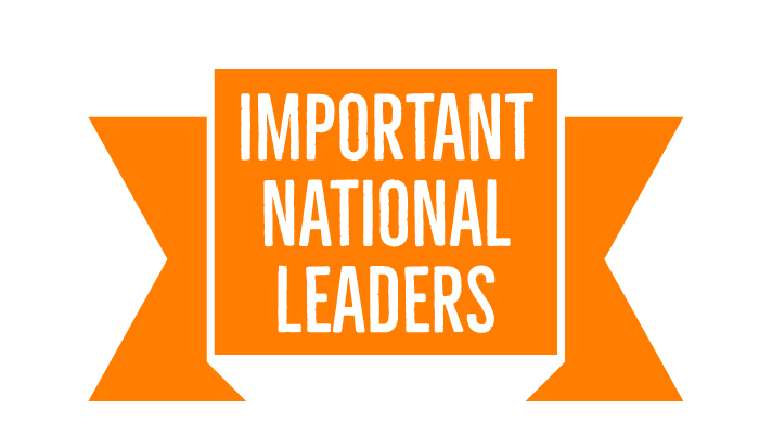 IMPORTANT NATIONAL LEADERS