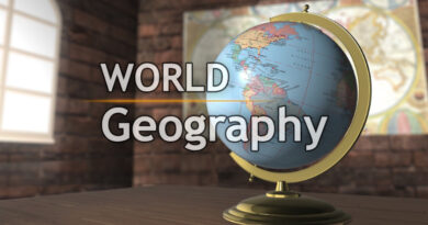 World Geography Big Bang Theory