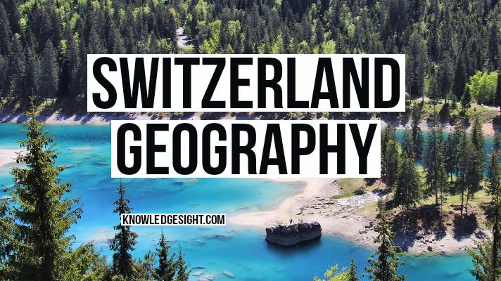 Switzerland geography