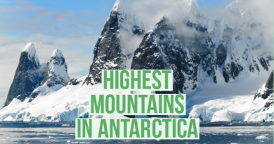 highest mountains in antarctica