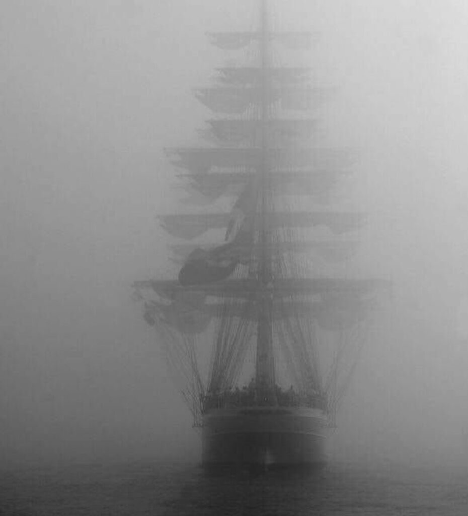 Octavius , mysterious ghost ship , the ghost ship