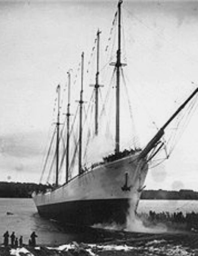 The carrol , mysterious ghost ship , the ghost ship