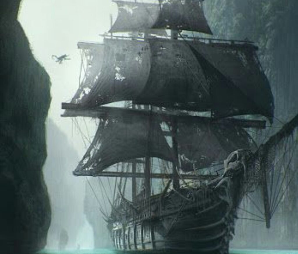 mysterious ghost ship , the ghost ship