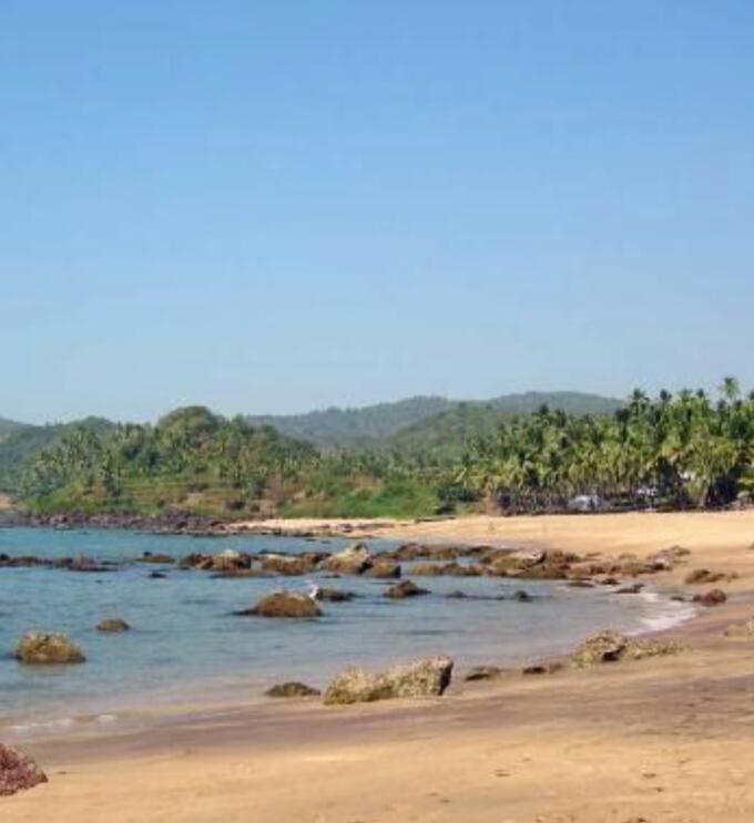 palolem beach , beach in india to Visit