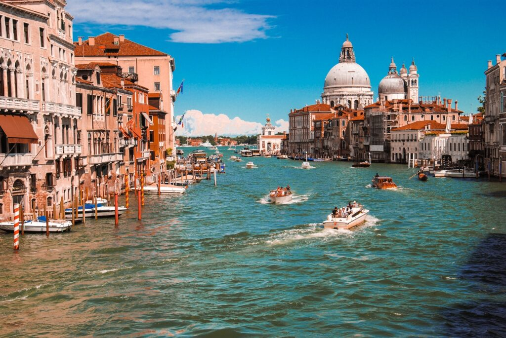 Venice Grand Canal, italy facts