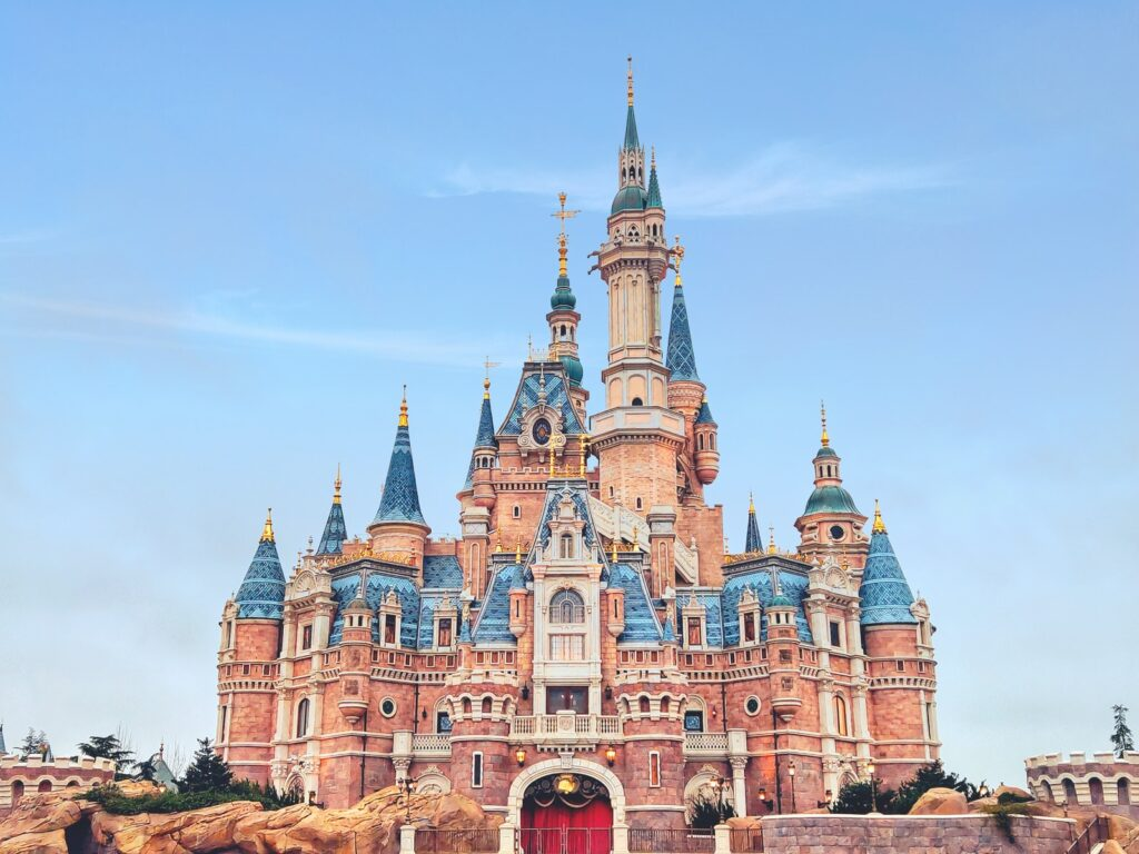 Disneyland,Visit in Paris