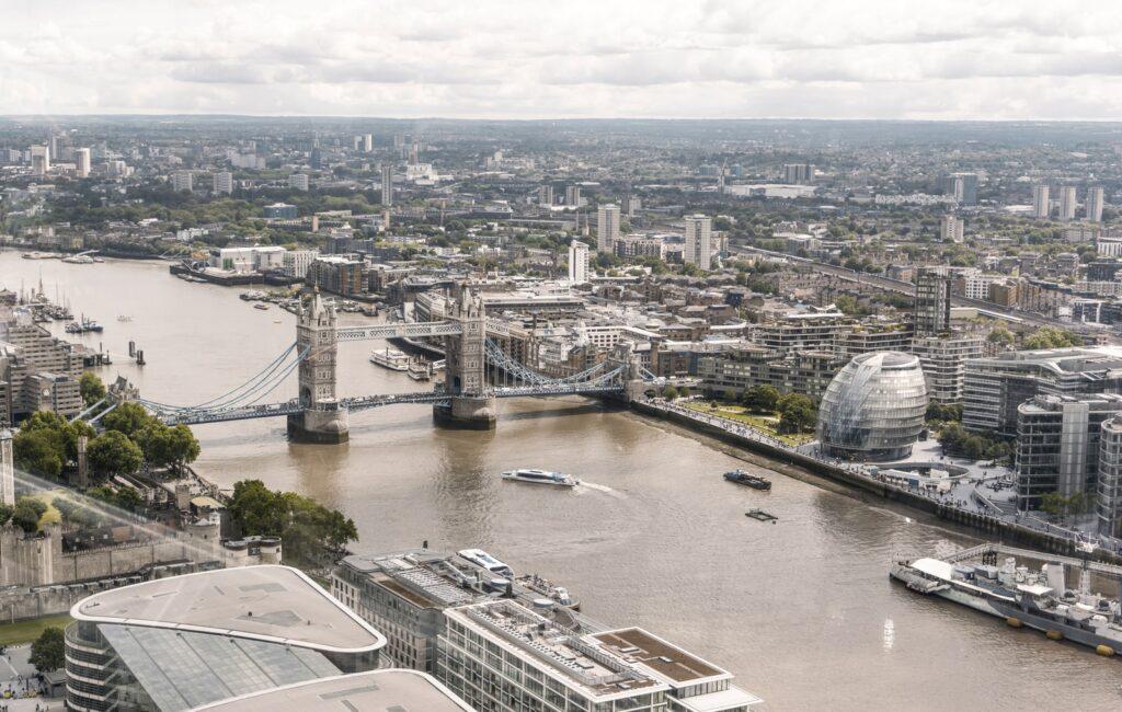 Tower Bridge, London during day