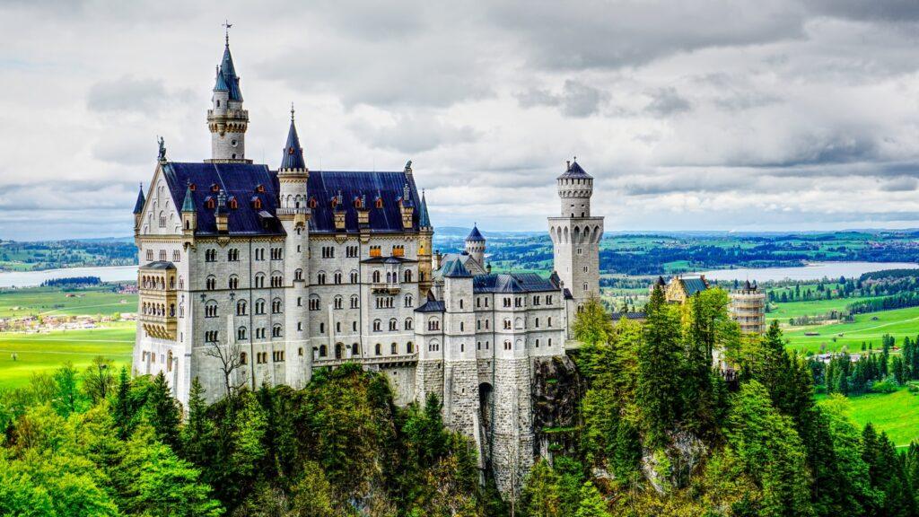 Neuschwanstein Castle, Germany,germany travel destinations