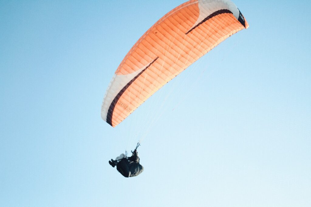 Skydiving in india